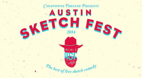 Austin Sketch Fest Flyer