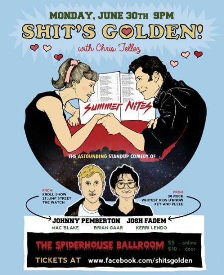 Shit's Golden Flyer for June 30th, 2014