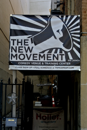 Entrance to The New Movement Theater.