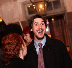 Rob Gagnon smiles for the camera