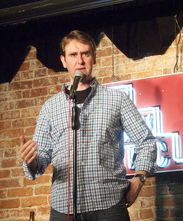 Mike Macrae is a staple at the Comedy Seance (credit: Jason Baldwin via Flickr CC).