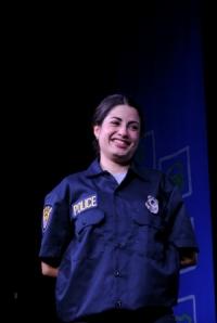 Ximena Estrada on stage