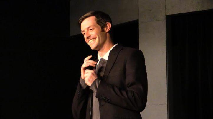 Chris Sebilia on stage